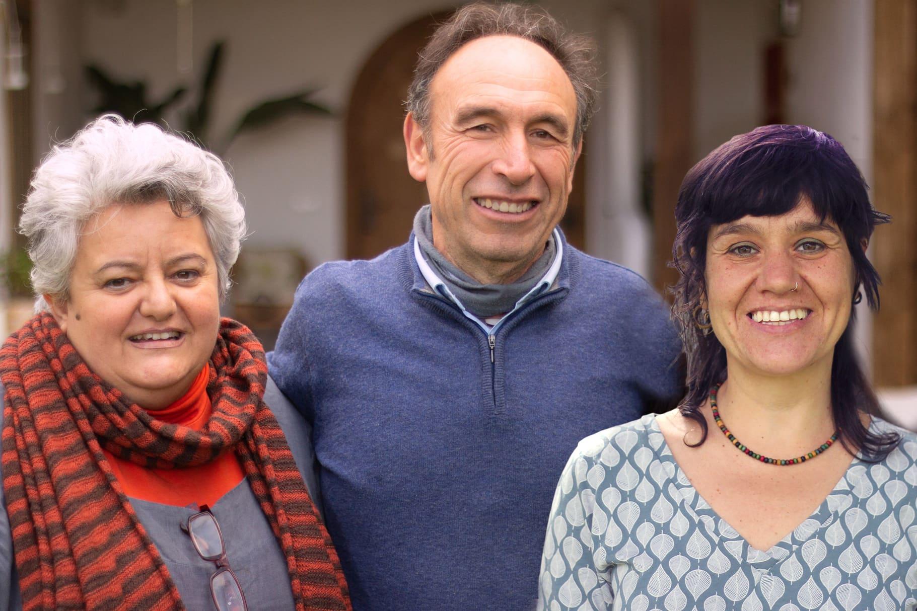 Luz Barba Vera, Julio Arroyo García, Goizargi Marcilla